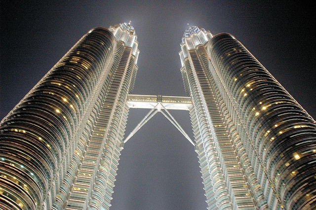 The Petronas Towers are one of the top tourist attractions in Kuala Lumpur...