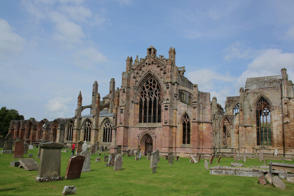 Melrose Abbey: easily one of the top reasons to visit Melrose